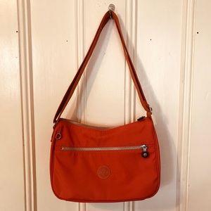 KIPLING orange crossbody bag